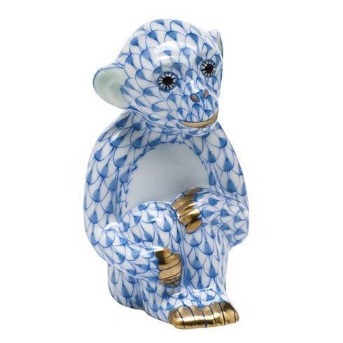 Little Monkey - Blue