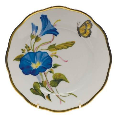 American Wildflowers Morning Glory Bread & Butter Plate