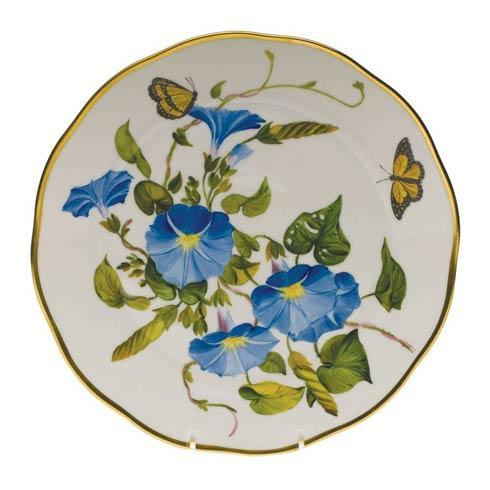 American Wildflowers Morning Glory Dinner Plate