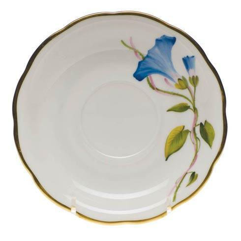 American Wildflowers Morning Glory Tea Saucer