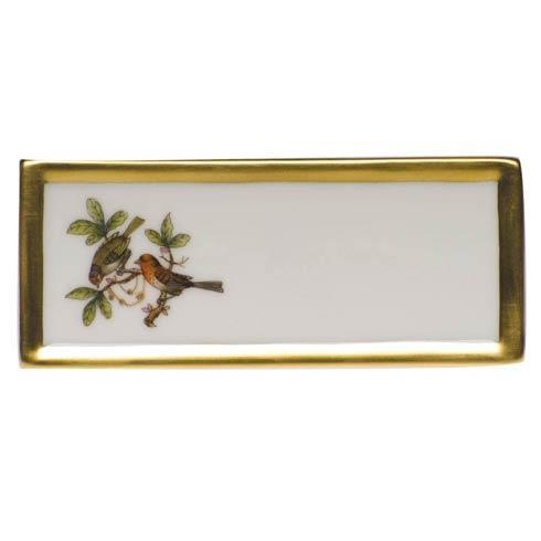 Rothschild Bird Original (no border) Place Card - Motif 10