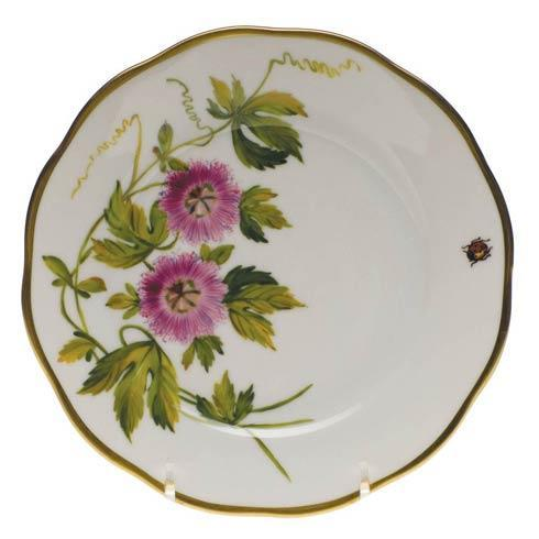 American Wildflowers Passion Flower Bread & Butter Plate