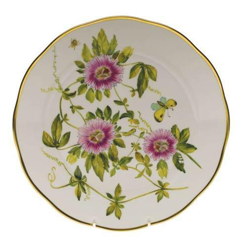American Wildflowers Passion Flower Dinner Plate