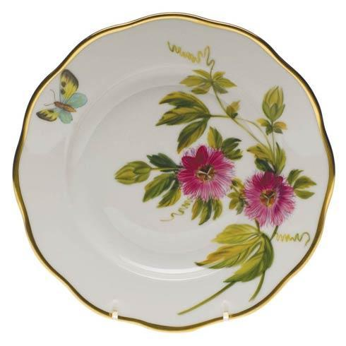 American Wildflowers Passion Flower Salad Plate