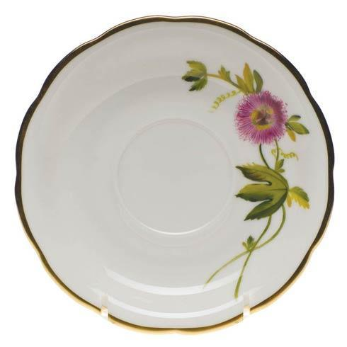 American Wildflowers Passion Flower Tea Saucer