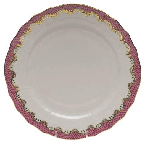 Fish Scale Pink Service Plate - Pink