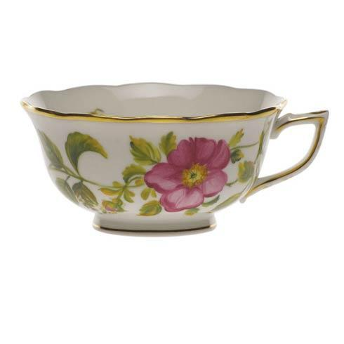 American Wildflowers Prairie Rose Tea Cup