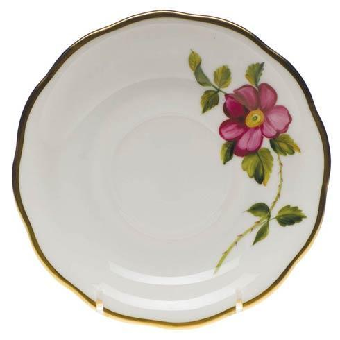American Wildflowers Prairie Rose Tea Saucer