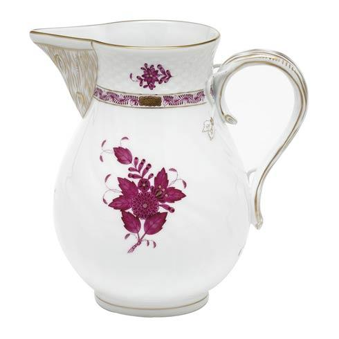 Chinese Bouquet Raspberry Pitcher - Raspberry