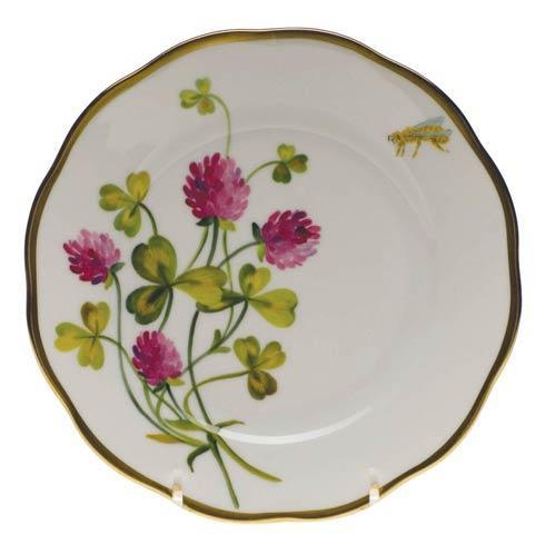 American Wildflowers Red Clover Bread & Butter Plate