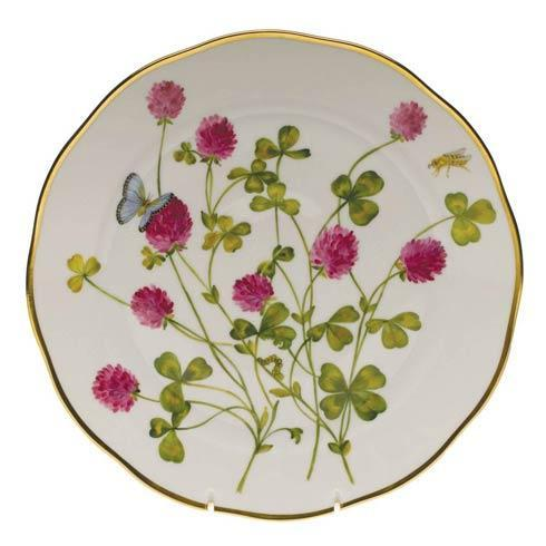 American Wildflowers Red Clover Dinner Plate