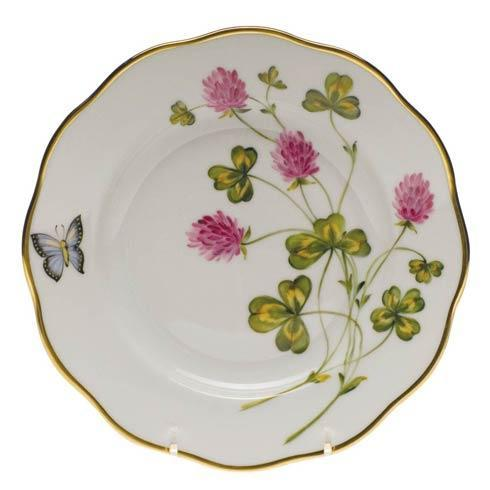 American Wildflowers Red Clover Salad Plate