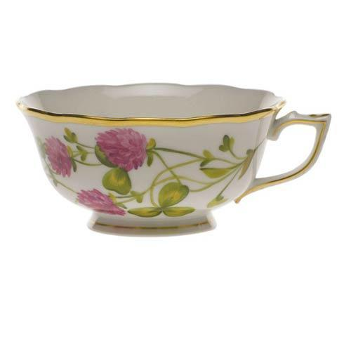 American Wildflowers Red Clover Tea Cup