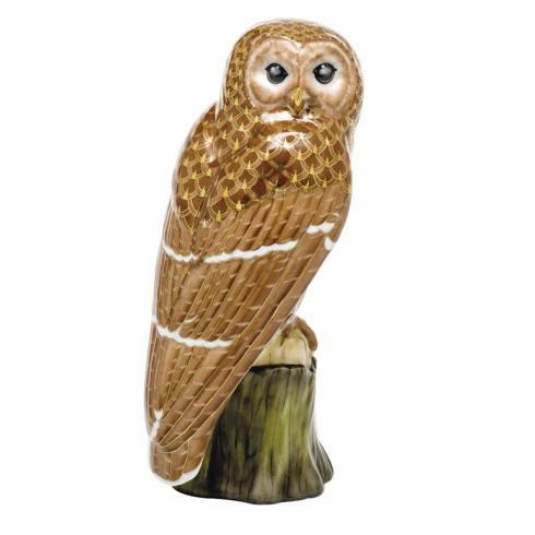 Reserve Collection Brown Barred Owl - Multicolor