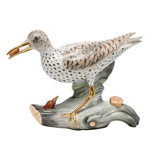Reserve Collection Spotted Sandpiper on Driftwood - Multicolor