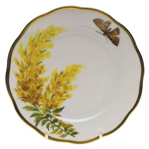 American Wildflowers Tall Goldenrod Bread & Butter Plate