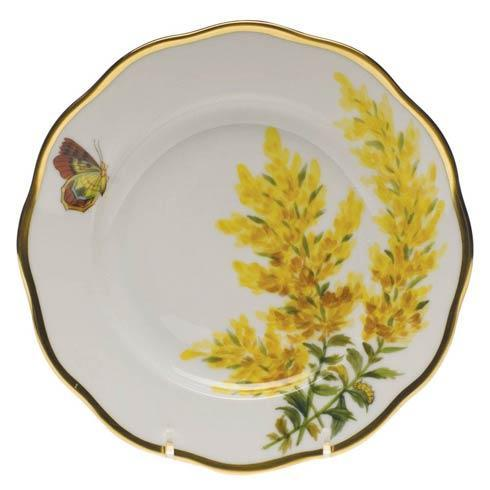 American Wildflowers Tall Goldenrod Salad Plate