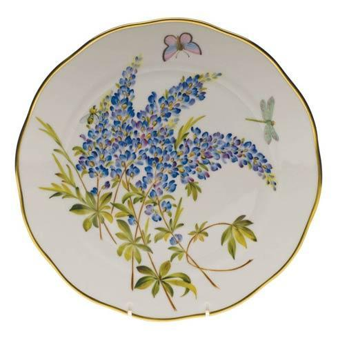 American Wildflowers Texas Bluebonnet Dinner Plate