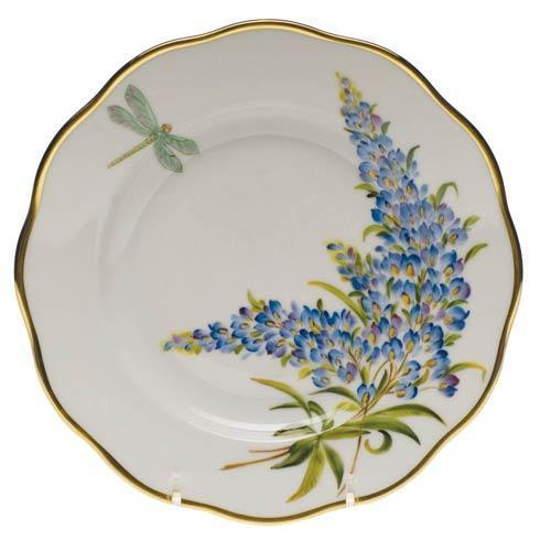 American Wildflowers Texas Bluebonnet Salad Plate