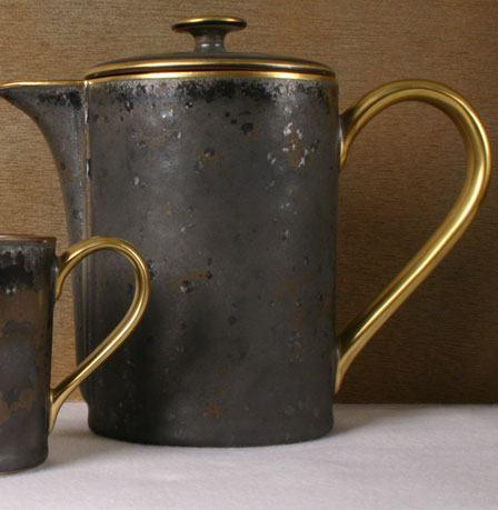Aguirre Gold Finition Coffee/Teapot