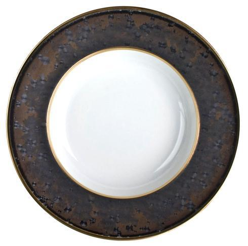 Aguirre Gold Finition Provence Rim Soup Plate