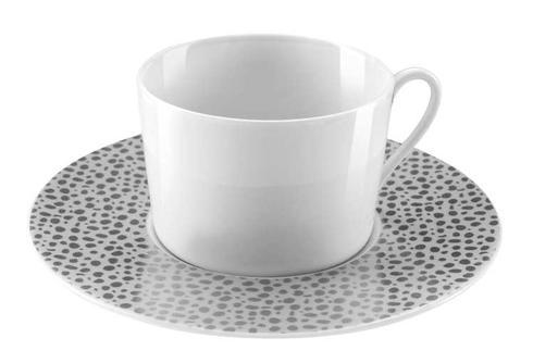 Baghera Platinum Coffee Cup And Saucer