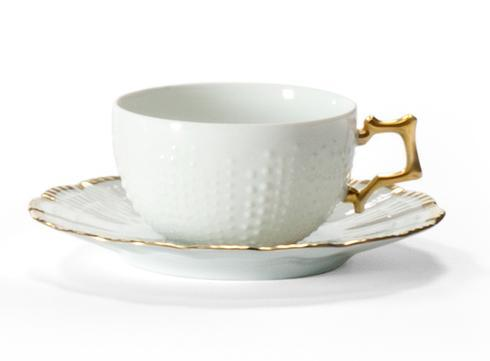Corail Or Coffee Cup And Saucer