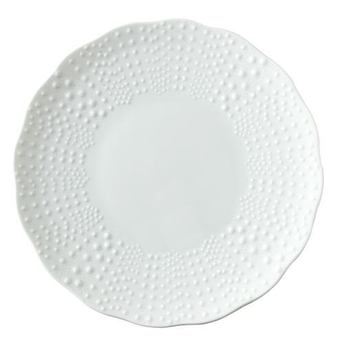 Corail White Charger Plate