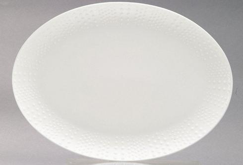 Corail White Oval Dish Big