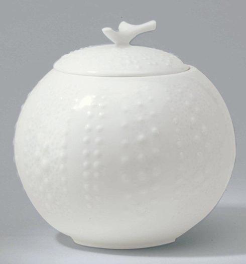 Corail White Sugar Bowl
