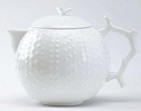 Corail White Tea Pot Big