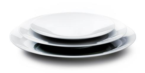Coupe Blanc Dinner Plate