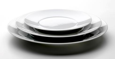 Envie Blanc Dessert Plate