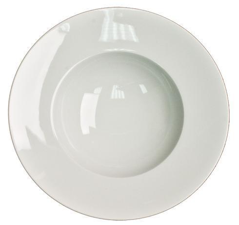 Envie Blanc Rim Soup Plate