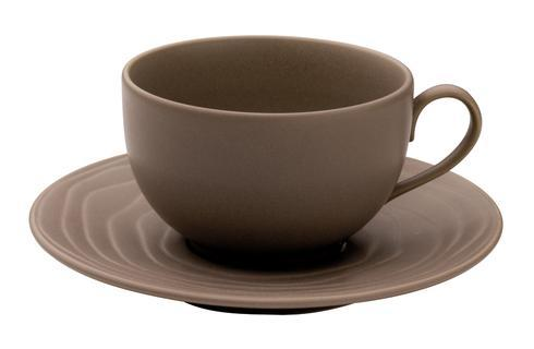 Escale Earth Tea Cup And Saucer