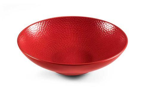Stone Red Individual Salad Bowl/Pasta Plate