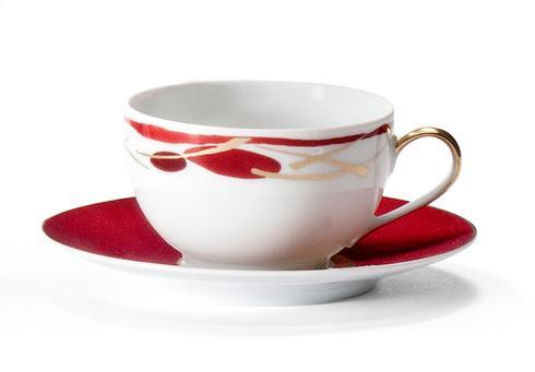 Voyage Immobile Envie Coffee Cup And Saucer