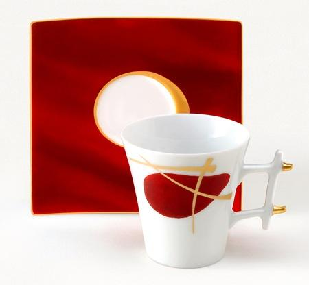 Voyage Immobile Oxygene Tea Cup And Saucer