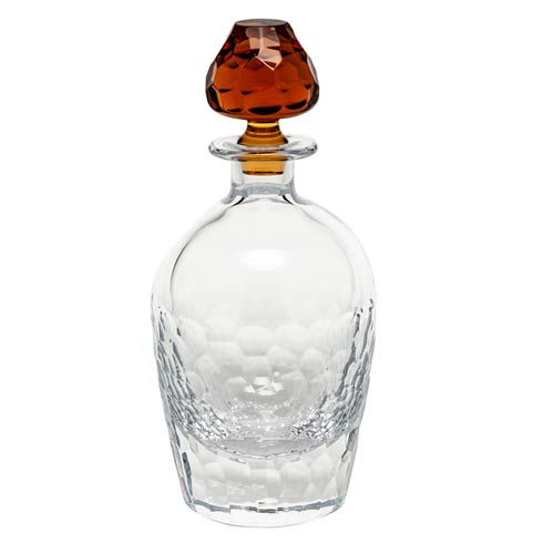 "Decanter 24 Oz. 10.8"" H Clear & Topaz"