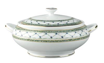 Allee Royale Covered Vegetable Dish