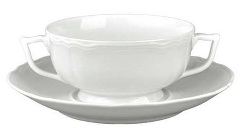 Argent White Cream Soup Cup