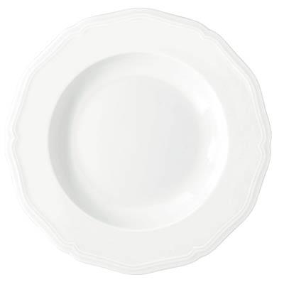 Argent White French Rim Soup