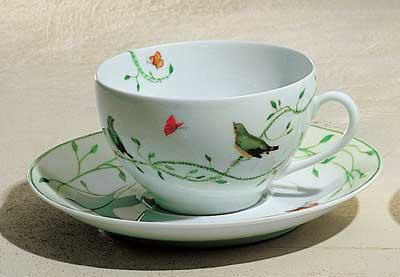 Wing Song Breakfast Saucer