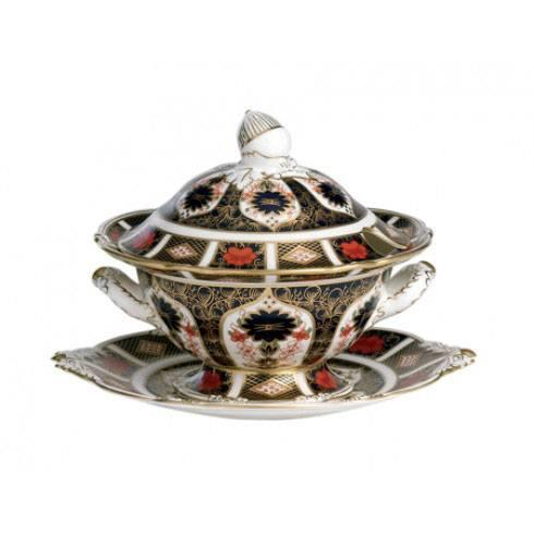 Old Imari Gift Boxed Sauce Tureen and Cover