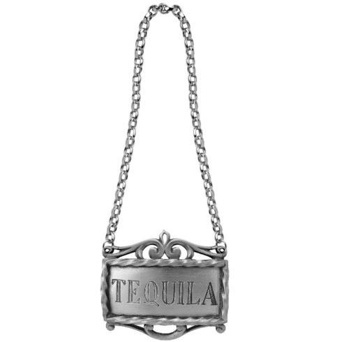 Bar Tequila Decanter Label