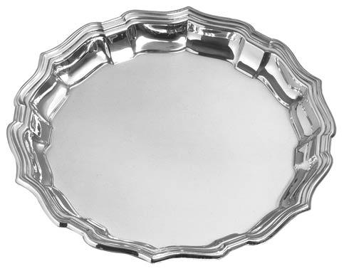 """Classic Serving 12"""" Chippendale Tray"""