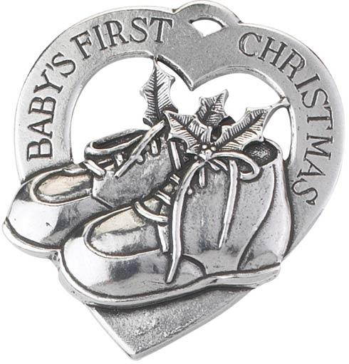Gift Baby's First Christmas Engravable Ornament