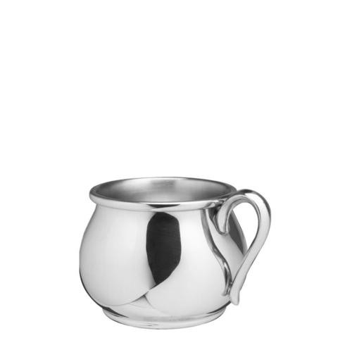 Pewter Baby Bulged Baby Cup, 5 oz.