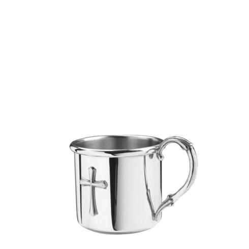 Pewter Baby Easton Cross Baby Cup, 5 oz.