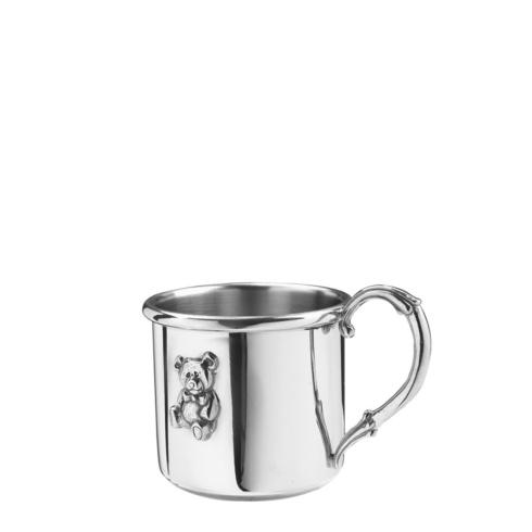 Pewter Baby Easton Teddy Baby Cup, 5 oz.